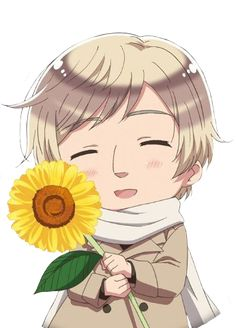 Ivan offering you a sunflower - Art by aphwy.co.vu