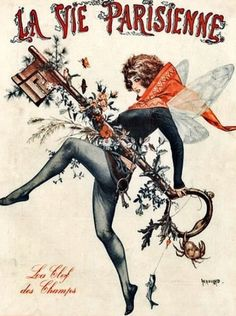 Illustration by Cheri Herouard For La Vie Parisienne July 1922