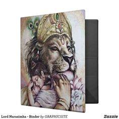 Lord Narasimha - Binder