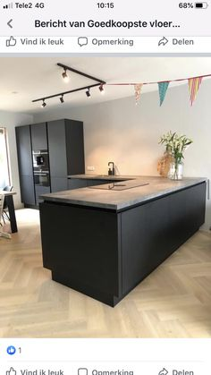 Kitchen Dinning Room, Kitchen Time, Kitchen Decor, Black Kitchens, Home Kitchens, Kitchen Interior, Home Interior Design, Kitchen Diner Extension, Happy New Home