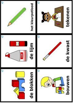 woordkaarten uk en puk, thema welkom puk Welcome, Playing Cards, Logos, School, Dutch, Spring, Google, Studying, Kunst