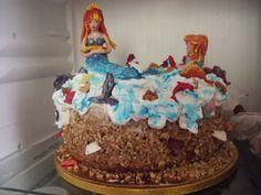 Tort-cake Sirene Handmade Home Decor, Cake, Desserts, Tailgate Desserts, Deserts, Kuchen, Postres, Homemade Home Decor, Dessert