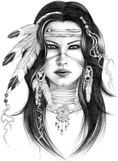 dove idea one Native American Tattoos, Native Tattoos, Native American Women, American Indian Art, Native American Indians, Native Indian, Native Art, Indian Drawing, Arte Tribal