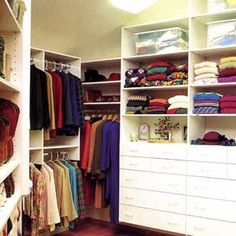 Customizing the Plan  All closet systems essentially are custom projects, because individual storage needs differ. But there are some elements that all closets have in common.   Hanging Items  Because short hanging items, such as shirts, blouses and pants folded over hangers, measure only 30 to 40 inches long, a typical closet can include two levels of hanging rods. As a rule, place the top rod 80 to 82 inches up from the floor, the bottom rod about 40 inches up. You should adjust the…
