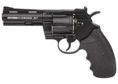 BBs and Pellets 178889: Swiss Arms .357 Metal Co2 Bb Revolver, 4Andquot: - 0.177 Caliber BUY IT NOW ONLY: $63.33