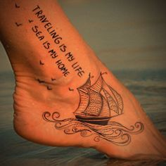 16 Beautiful Ship Tattoo Designs and Meanings