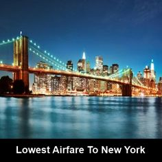 #Cheap_flight_ticket to #Newyork, and enjoy your journey.