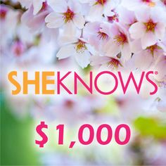 Enter the SheKnows' $1,000 Jump into Spring Giveaway to win a $1,000 American Express gift card. This promotion is open to the legal residents of the USA, 18 . Enter unlimited number of times through May 31, 2013 See the Official Sweepstakes Rules for additional details before you enter