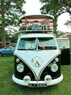 Vw Bus, Vw Camper, Campers, Black Betty, Busses, Van, Retro, Vehicles, Model