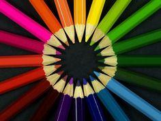 circle colors Coloring Pencils Wallpaper