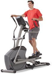 Horizon Elite E9 Elliptical Trainer Review, with full color touch screen display and interactive technology.  Selling for $1,899 with shipping.