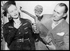 The Fiji Mermaid, part of the old circus  sideshow attractions.  Also, look at that woman's face.    rip_mer.jpg (449×328)