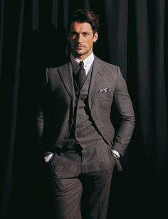 Madame Figarco magazine. Hair styles: Larry King / Model: David Gandy. If we are looking for Mr Grey I'd say we just found him... Man is this guy HOT!