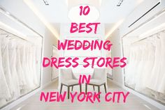 Top 10 Places to Find a Wedding Dress in New York City