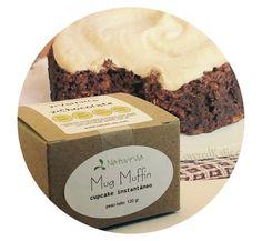 Muffins Low-Carb, Sugar-Free de NatureVia, listos en 1 minuto