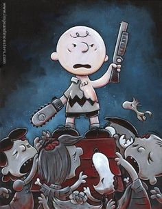 Charlie Brown and The Evil Dead