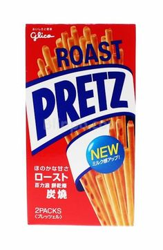 Pretz keksitikku (paisti) Japanese Candy, Japanese Sweets, Kawaii Gifts, Snack Recipes, Snacks, Kawaii Shop, Pop Tarts, Roast, Chips