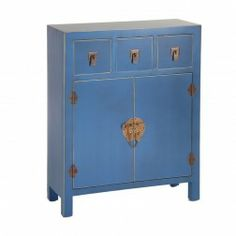 Aparador pintado a mano chino muebles chinos muebles for Muebles orientales madrid