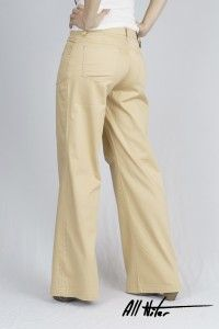Women's Organic All-Niter Loose Fit Camel Sateen  WAS £65 NOW £40 Available Now at Monkeegenes.com