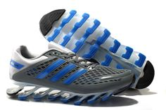 hot sale online 85a46 910b1 Hot wholesale Adidas 2014 Springblade II Grey Blue Men s Running shoes Store