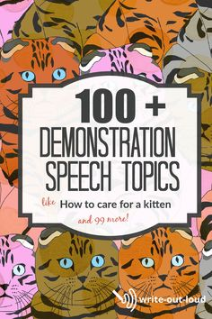 Suitable for middle school and up. Includes help with structuring the speech, and links to more topic ideas. Demonstration Speech, Middle School Ela, Public Speaking, Learn English, Esl, Teaching, Writing, Ideas, Learning English