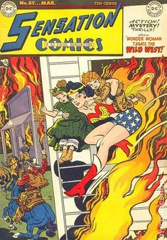 SENSATION COMICS 87, WONDER WOMAN, GOLDEN AGE DC COMICS