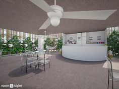 Roomstyler.com - Ice Cream Cafe