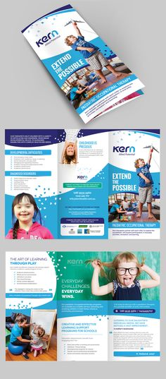 Designs | Brochure needed to help educate families on children's health! | Brochure contest