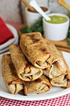Oven-Baked Chimichangas Recipe