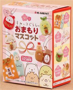 Summikogurashi animals lucky charm mascot Re-Ment miniature blind box