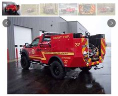 Fire Department Chooses Spencer Manufacturing for Small, Compact Wildland Truck - Fire Apparatus