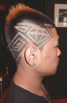 barber cuts Shine Bright Like a Diamond