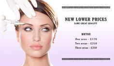 We are pleased to announce our new lower Botox prices!