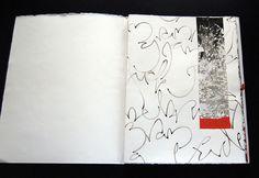 Marina Soria | Obra Artística | Libros de Artista Artist Journal, Book Sculpture, Handmade Books, Letter Art, Mark Making, Colorful Drawings, Bullet Journal Inspiration, Modern Calligraphy, Altered Books