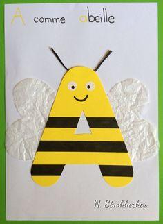 A comme abeille