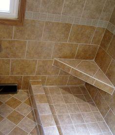 Tile idea for bathroom