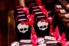 Monster High 8th Birthday Party via Kara's Party Ideas   Kara'sPartyIdeas.com #monster #high #birthday #party (8)