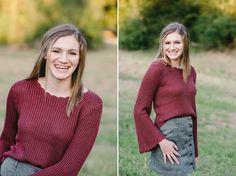 Wonderful fall senior portraits in Friendswood, TX. @theramseysseniors