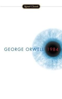 1984 by George Orwell. Power through control, and subjugation through freedom, George Orwell takes one on a journey of believable struggle that makes one yearn to break free. 100 Books To Read, I Love Books, Good Books, My Books, George Orwell, Book Club Books, Book Lists, The Book, Books Everyone Should Read