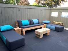 Outdoor Sectional, Sectional Sofa, Big Pillows, Outdoor Furniture, Outdoor Decor, Lounge, Home Decor, Airport Lounge, Modular Couch