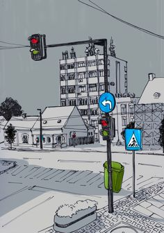 Cityscapes sketches