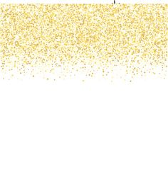 Golden glitter border background tinsel shiny backdrop luxury gold vector art gold glitter texture golden shiny sparkles on white background stopboris Images