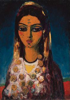 Kees van Dongen - Femme Arabe