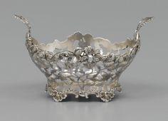 A Dutch silver sweetmeat basket, Steven Jan van Hengel, Amsterdam, 1770
