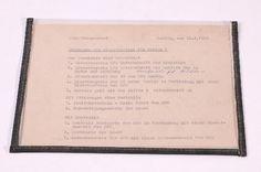 """DDR Museum - Museum: Objektdatenbank - Dokument """"Einsatzbefehl""""    Copyright: DDR Museum, Berlin. Eine kommerzielle Nutzung des Bildes ist nicht erlaubt, but feel free to repin it!"""