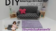 furniture you can make for american girl doll - YouTube