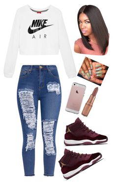 """Simple but cute "" by shannaa6 on Polyvore featuring NIKE"
