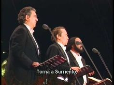 The 3 Tenors - Torna a Surriento - YouTube