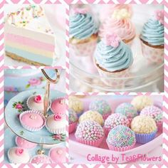 Cake, Sweet, Desserts, Pastels, Collages, Food, Montages, Pastel, Deserts
