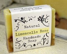 A lovely lemony soap with hints of Rose Geranium. Naturally coloured with Lemongrass essential oil, Rose clay and Rose Madder this is a beautiful soap with definite sink appeal! http://www.workingwithnature.co.uk/ We do not boil our cold process soap like commercial manufacturers so it should not crack on the sink and should keep it's scent to the very last sliver.